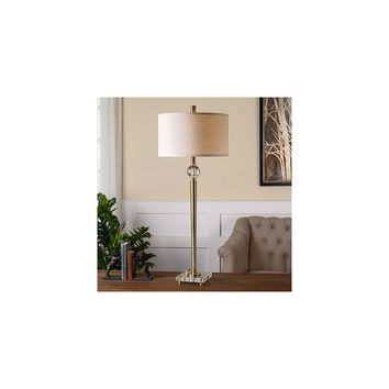 Uttermost Mesita 40'' H Buffet Table Lamp with Drum Shade