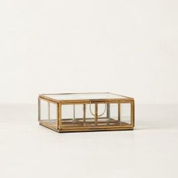 Gilded Borders Jewelry Box by Anthropologie