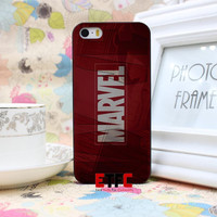 ETFC-249 Luxury marvel Design Hard Black Skin Case Cover for iPhone 4 4s 4g 5 5s 5g