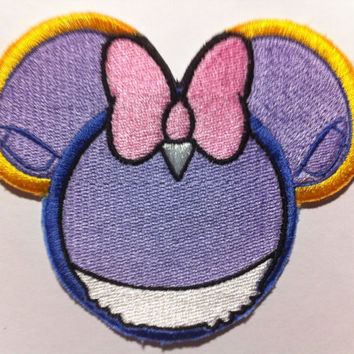 Daisy Duck Inspired Mouse Ear Patch