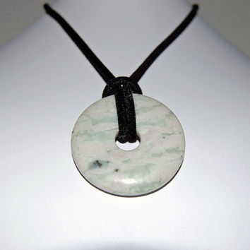 Handmade Peace Jade Nursing Necklace