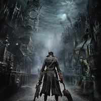 Bloodborne The Hunter video game poster