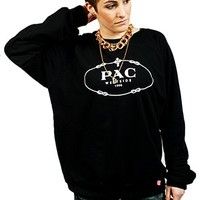 Women's PAC black crew
