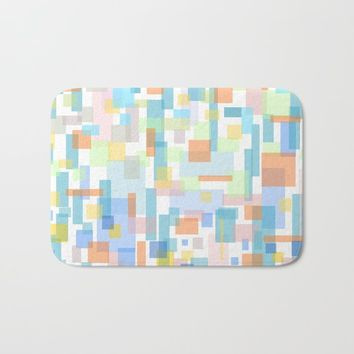 zappwaits-watercolor Bath Mat by netzauge