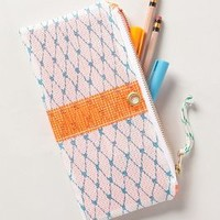 Lazarette Pencil Case by Anthropologie