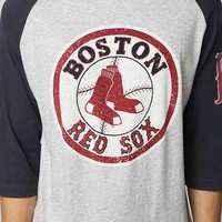 Boston Red Sox 2014 Raglan Tee- Navy M