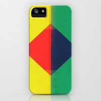Red Triangle iPhone & iPod Case by Amelia Senville