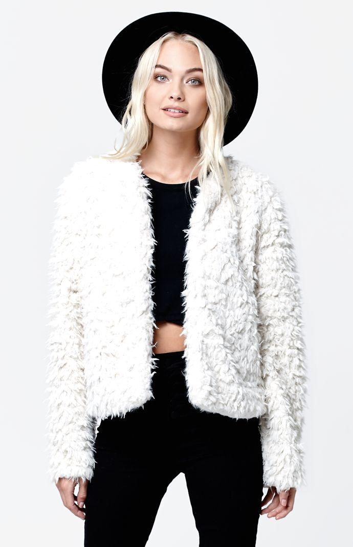 Vans Hammersmith Faux Fur Jacket - Womens from PacSun | Epic