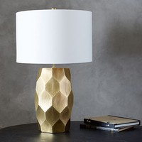 Vince Faceted Table Lamp
