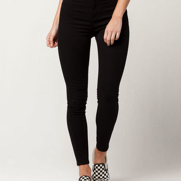 RSQ L.A. Super High Waisted Womens Skinny Jeans