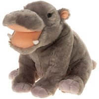 "10"""" Bb Hippo with Picture Hangtag Case Pack 12"