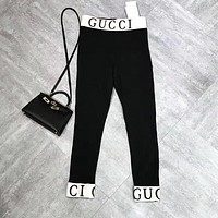 Gucci Women Black Leggings