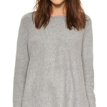 Easy Fit Crew Sweater
