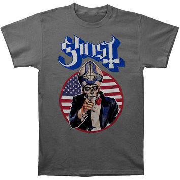 Ghost B.C. Men's  Uncle Papa On Charcoal Slim Fit T-shirt Charcoal