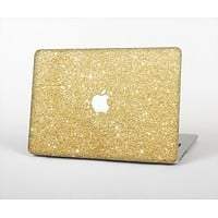 The Gold Glitter Ultra Metallic Skin Set for the Apple MacBook Air 13""