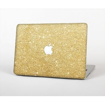 The Gold Glitter Ultra Metallic Skin Set for the Apple MacBook Air 11""