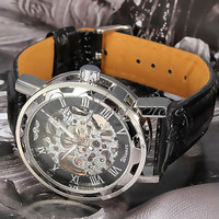steampunk Watch Men watches skeleton Watch Mechanical Watch Mens Sports Watch luxury watches cool watches best watches