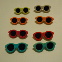 Vintage 1970s Sunglasses Pins