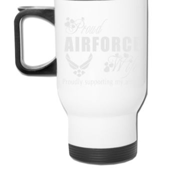 air force wife - Travel Mug