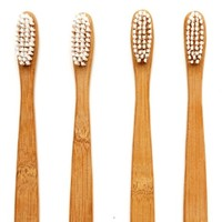 Organic Bamboo Wood Toothbrush-  Biodegradable and Recyclable