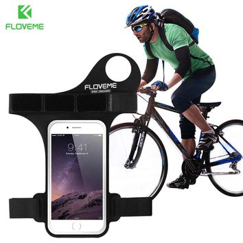 FLOVEME Running Thumb Arm Band Sport Phone Case For Samsung Galaxy S5 S6 S7 Edge A5 A7 A8 J5 J7 For iPhone For HTC M7 8 9 Xiaomi