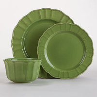 Verde Dinnerware Collection, Sets of 4