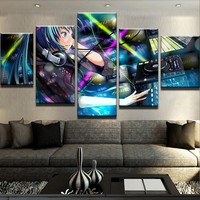 Hatsune Miku Canvas Set