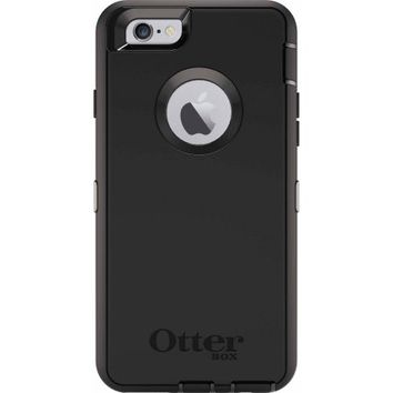 Otter Box Defender Series Rugged Protection iPhone 6 and 6s Black - Walmart.com