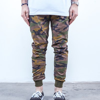 Camo Twill | Sunset Jogger