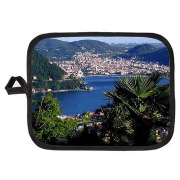 LAKE COMO POTHOLDER