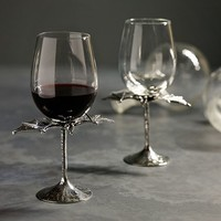 BAT WINE GLASS