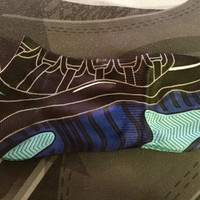 "Air Jordan Retro 11 ""Gamma Blue"" Socks"
