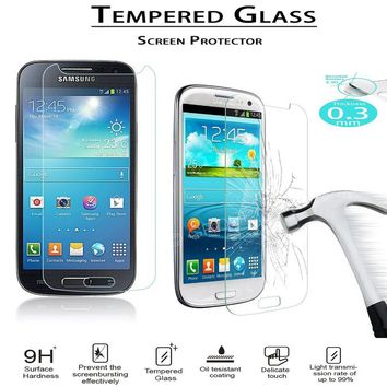 HOT ON SALE! HD 2.5D 9H Tempered Glass Screen Protector For Samsung S3 S4 S5 S6 S7 A3 A5 A7 grandprime Protective Film 0.26mm HD