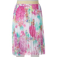 Candie's Pleated Midi Skirt - Juniors, Size: