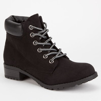 SODA Equity Womens Work Boots | Boots & Booties