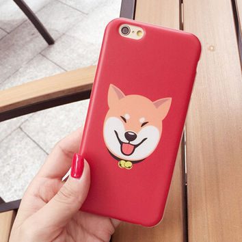 Cute Shiba Cover Case for iPhone 5s 5se 6 6s Plus Gift 332