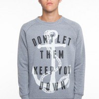 Glamour Kills Clothing - Guys Anchor Down Sweatshirt