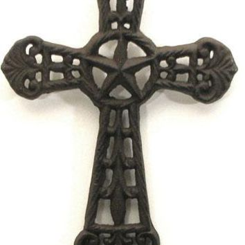 Cast Iron Western Star Cross