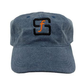SF Native Classic Cap in blue denim