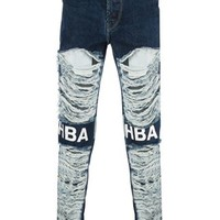 Hood By Air Ripped Skinny Jeans - Eraldo - Farfetch.com
