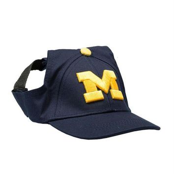 CUPUPHP Michigan Wolverines Pet Baseball Hat