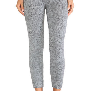 KNITZ by For Love & Lemons Blizzard Legging in Gray