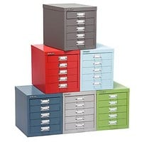 The Container Store > Bisley® 5-Drawer Cabinet