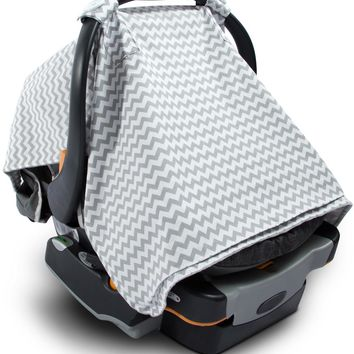2-in-1 baby car seat cover and nursing blanket Case of 10