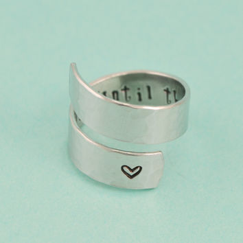 Until The Very End Wrap Ring