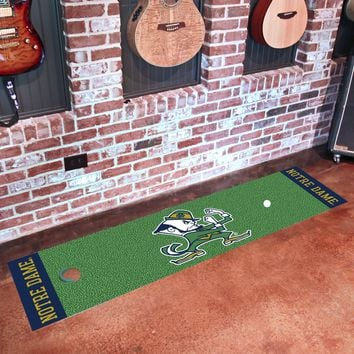"Notre Dame Putting Green Runner 18""x72"""