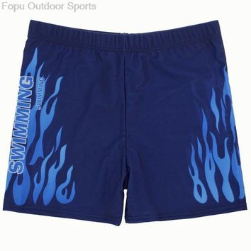 DCCK7N3 Plus Size Sexy Flame Men Male Swim Pool Beach Swimming Swimwear Boxer Trunks Shorts Pants Bathing Suit Briefs Swimsuit Underwear