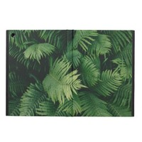 Green Fern Leaves Photography Cover For iPad Air