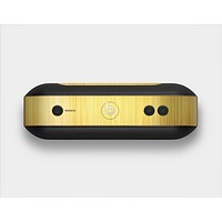 The Bright Brushed Gold Surface Skin Set for the Beats Pill Plus