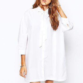The Laden Showroom X Zacro Tie Shirt Dress